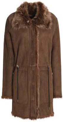Yves Salomon Meteo By Reversible Shearling Jacket