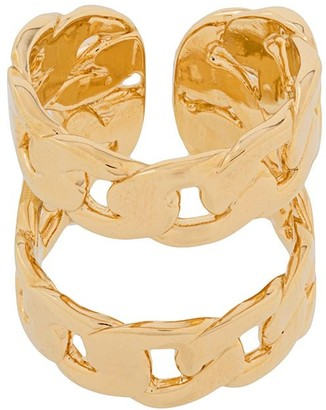 Maison Margiela Double Chain-Link Cuff Ring