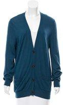 Dries Van Noten Long-Sleeve Button Front Cardigan