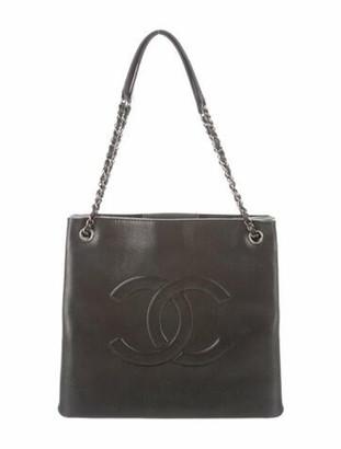 Chanel Iridescent Timeless Accordion Tote Metallic