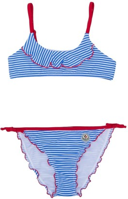 Moncler Enfant Ruffled Bikini Set