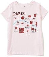 Kate Spade Little Girls 2-6 Short Sleeve Paris Tee