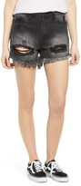 Articles of Society Meredith Ripped Denim Shorts