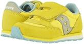 Saucony Kids Originals Jazz Hook Loop (Toddler/Little Kid) (Yellow) Kid's Shoes