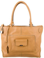 Tod's Grained Calfskin Tote