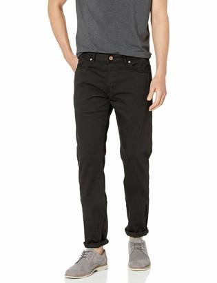 Billy Reid Men's Garment Dyed Selvedge Slim Jean
