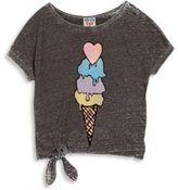Junk Food Clothing Girl's Ice Cream Printed Tee