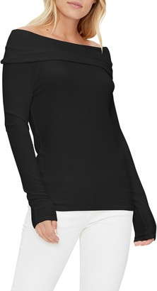 Michael Stars Elaine Convertible Off the Shoulder Top
