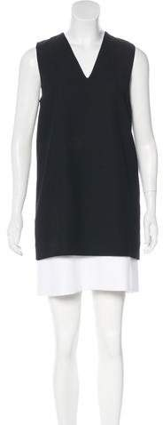 Givenchy Colorblock Mini Dress