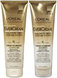 L'Oreal EverCreme Sulfate-Free Moisture System Intense Nourishing, DUO set Shampoo + Conditioner, 8.5 Ounce, 1 each