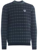 Kenzo Checked Roundneck Jumper