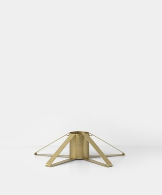 ferm LIVING Christmas Tree Foot Stand In Brass