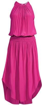 Ramy Brook Audrey Blouson Midi Dress