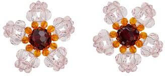 Simone Rocha Crystal earrings