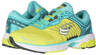 Spira Scorpius II (Neon Yellow/Teal/White) Women's Shoes