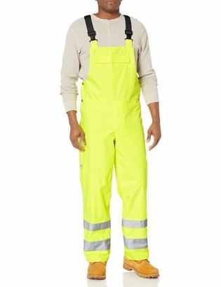 Helly Hansen Work Wear Men's Big and Tall Alta High-Visibility Shelter Bib