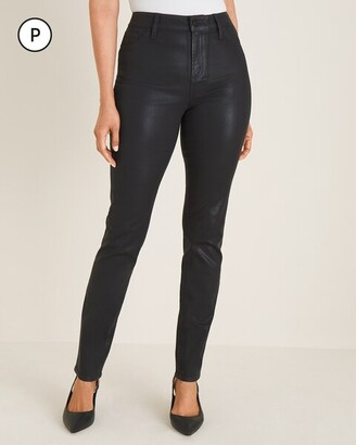 Chico's Petite Coated Jeggings