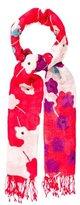 Diane von Furstenberg Floral-Printed Woven Scarf