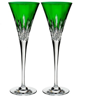 Waterford Lismore Pops Toasting Flutes (Set Of 2)