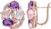 Women's Amour SHB000715 Openwork Clipback Earring