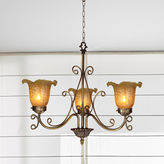 Dale Tiffany Dale TiffanyTM Luster Gold Hanging Fixture