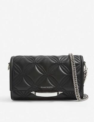 Alexander McQueen The Story quilted leather shoulder bag