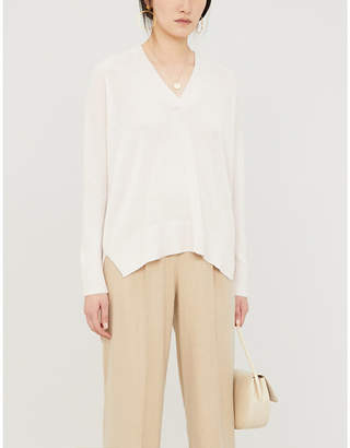 The White Company Oversized cashmere jumper