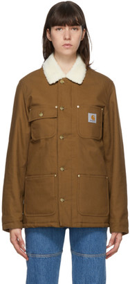 Carhartt Work In Progress Brown Fairmount Jacket
