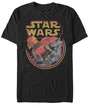Star Wars Men's Episode Ix Rise of Skywalker Red Trooper Storm T-shirt