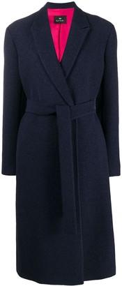 Paul Smith oversized belted coat