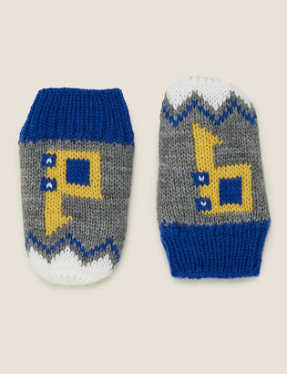 Marks and Spencer Kids' Crochet Digger Mittens