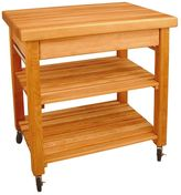 Catskill Craft French Country Kitchen Cart