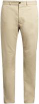 MAISON KITSUNÉ Straight-leg gabardine chino trousers