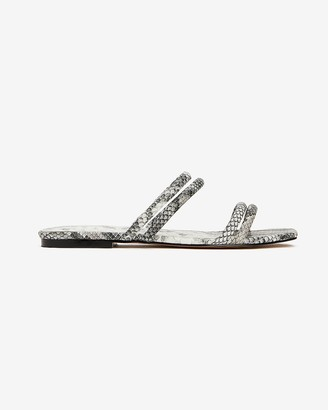 Express Double Strap Slide Sandals