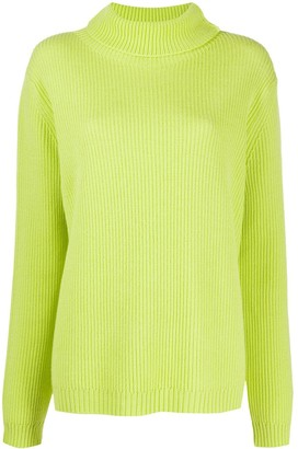 Aspesi Knitted Roll-Neck Jumper