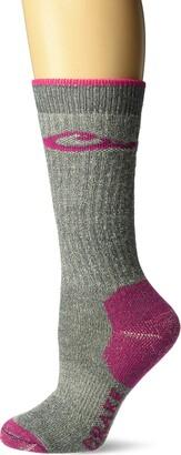 Drake Women's Merino Wool Midweight Crew Boot Socks 1 Pair Pack