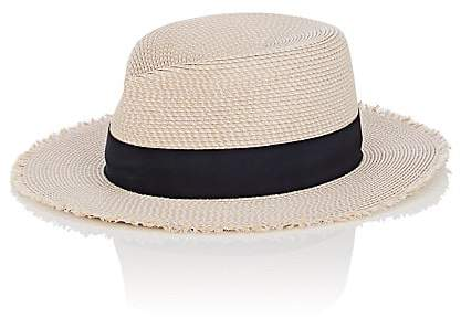Eric Javits MEN'S PACKABLE DISTRESSED STRAW HAT