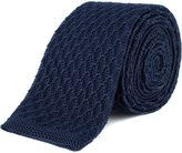 Gibson Navy Knit Tie