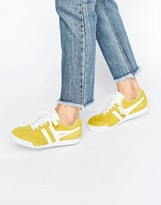Gola Classic Harrier Sneakers In Yellow