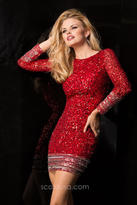 Scala 48356 Dress in Red