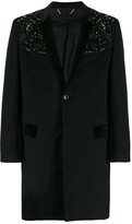 Philipp Plein studded single-breasted coat