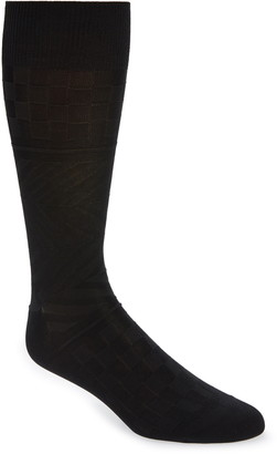 Nordstrom Mercerized Cotton Blend Dress Socks