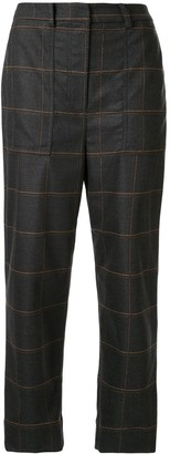 Manning Cartell Australia Loose-Fit Check Trousers