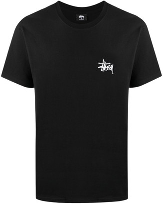 Stussy logo print short-sleeved T-shirt