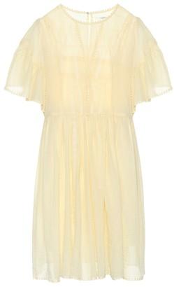 Etoile Isabel Marant Annaelle cotton lace minidress