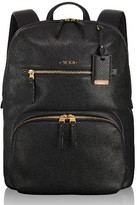 Tumi Voyageur Halle Leather Backpack - Black