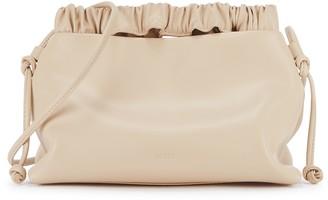 Eudon Choi Flow Cream Leather Shoulder Bag