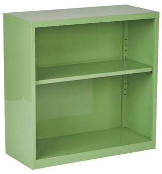 OSP Designs Metal Bookcase - Multiple Colors
