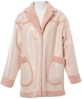 Opening Ceremony Pink Faux fur Coat for Women