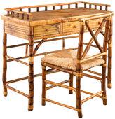 One Kings Lane Eastbrook Desk and Chair Set, Tortoise